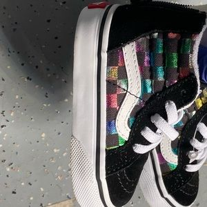 Vans Toddler Sneakers Size 3.5
